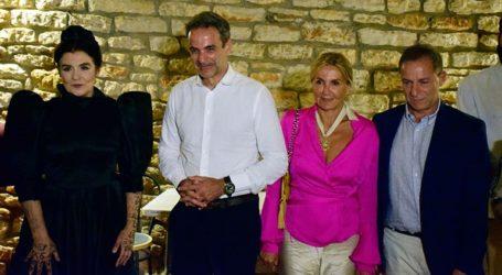 Την τραγωδία «Πέρσες» του Αισχύλου παρακολούθησε στην Επίδαυρο ο πρωθυπουργός