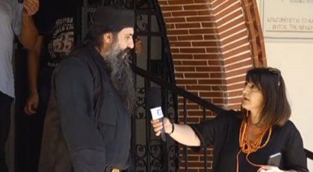 Σάλος με τον πατέρα Ιγνάτιο που έδιωξε γυναίκα με μάσκα από την εκκλησία
