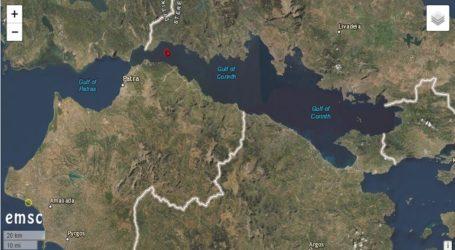 Σεισμός 3,4 Ρίχτερ στον Κορινθιακό
