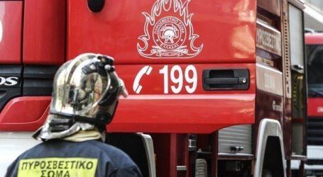 Καίγεται ο χώρος υγειονομικής ταφής απορριμμάτων στο Τεμπλόνι