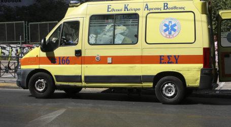 Τροχαίο ατύχημα στην Αγριά Βόλου – Ένας τραυματίας