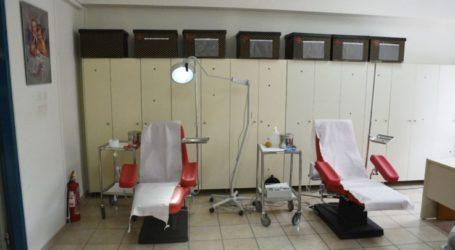 Εθελοντική αιμοδοσία στην Κρανιά Ελασσόνας