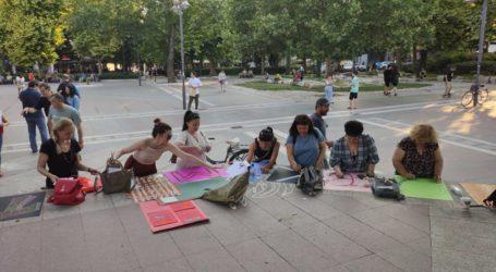 Λάρισα: Εκπαιδευτικοί διαμαρτυρήθηκαν για την κατάργηση των μαθημάτων καλλιτεχνικής παιδείας (φωτο)
