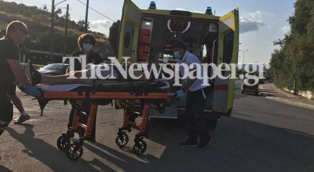 Τροχαίο με τραυματία στην Αγριά Βόλου