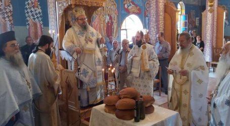 Γιόρτασε Αγίους Δώδεκα Αποστόλους η Καλλιπεύκη (φωτο)