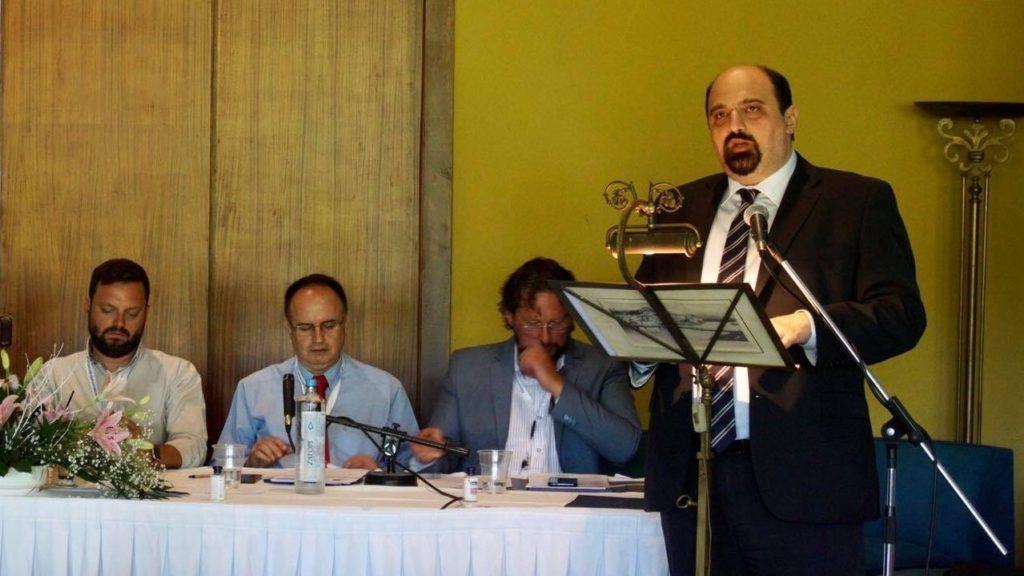 Ctrianto Speech Skiathos