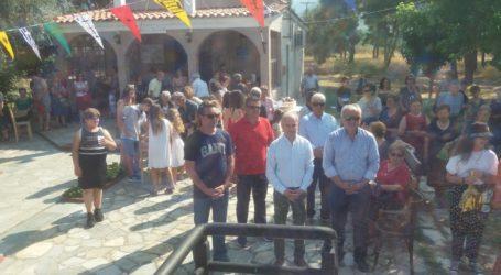 Στο Εξωκλήσι των Αγίων Αναργύρων στην Όσσα ο Γιώργος Μανώλης