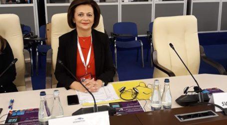 Μ. Χρυσοβελώνη: Υπέρ της πρότασης Κουντουρά για συμβούλιο υπουργών της Ε.Ε. για ισότητα φύλων