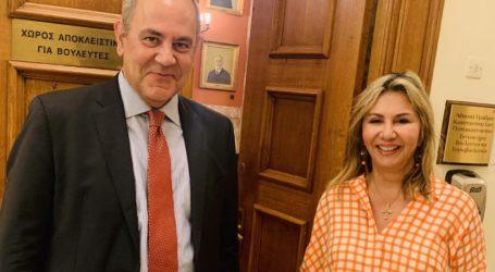 Επείγουσα συνάντηση Ζ. Μακρή με τον υφυπουργό Β. Διγαλάκη για το Πανεπιστήμιο Θεσσαλίας
