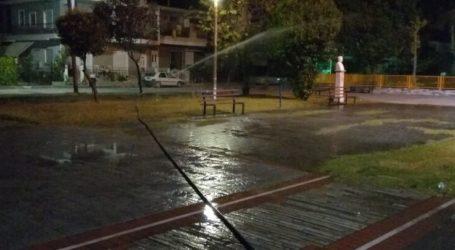 Ο Πρόεδρος Κοινότητας Γιάννουλης απαντά στην καταγγελία για αλόγιστη χρήση νερού σε πλατεία