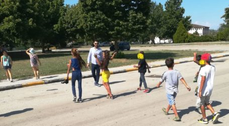 Βιωματική δράση στο πάρκο Κυκλοφοριακής Αγωγής Φαρσάλων