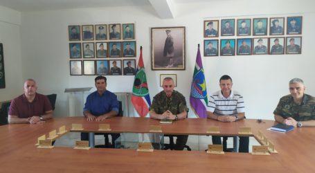 Βόλος: Με τον διοικητή Φρουράς συναντήθηκε το Δ.Σ. της Ένωσης Στρατιωτικών