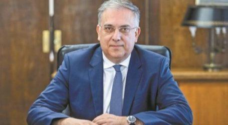 Έρχεται στη Λάρισα ο υπουργός Εσωτερικών Τάκης Θοδωρικάκος