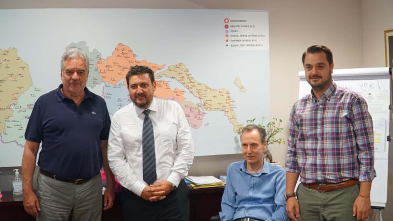 Ορκίστηκε νέος διοικητής του Γενικού Νοσοκομείου Λάρισας ο Γρηγόρης Βλαχάκης (φωτό)