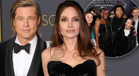 O Brad Pitt εθεάθη να φεύγει από το σπίτι της Angelina Jolie