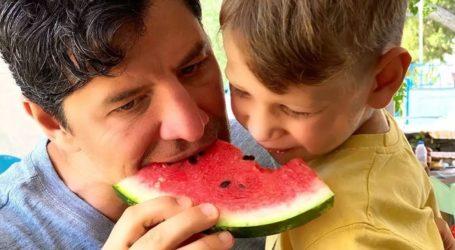Σάκης Ρουβάς & Κάτια Ζυγούλη: Ξέγνοιαστες στιγμές με τα παιδιά τους