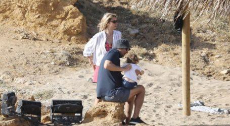 Ο Νίκος Κριθαριώτης και η Ναστάζια Δαρίβα βάφτισαν τον γιο τους!