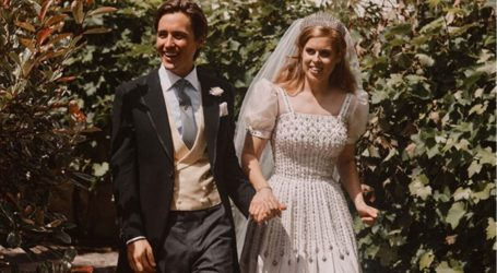 Νέες φωτογραφίες απο τον γάμο της πριγκίπισσας Βεατρίκης με τον Ιταλό αγαπημένο της