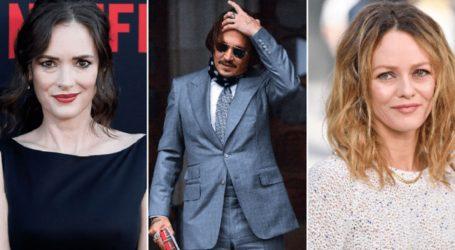 Υπέρ του Johnny Depp στη δίκη οι δύο πρώην του, Winona Ryder και Vanessa Paradis
