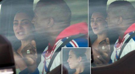Συντετριμένη η Kim Kardashian στην πρώτη συνάντηση με τον Kanye West μετά το παραλήρημα