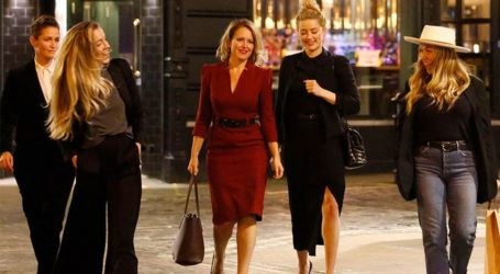 Amber Heard & Bianca Butti: Διασκέδασαν στο Soho μετά το τέλος της πολύκροτης δίκης