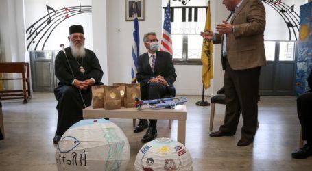 Στην «Αποστολή» με τον Αρχιεπίσκοπο Ιερώνυμο ο Τζέφρι Πάιατ