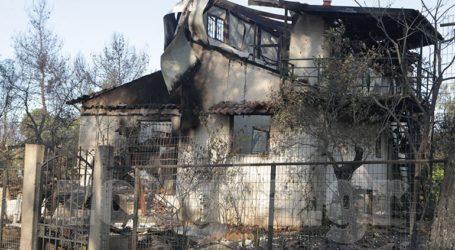 Στάχτη έγινε ένα σπίτι στο Αλαμάνο Κορινθίας