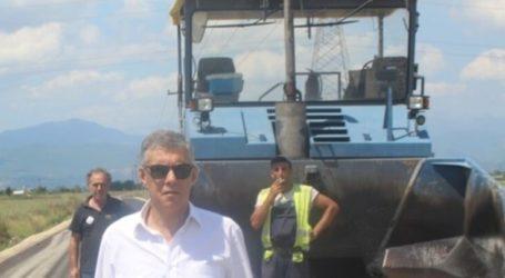 Βελτιώνει αγροτικούς δρόμους στη Βερδικούσια Ελασσόνας η Περιφέρεια Θεσσαλίας