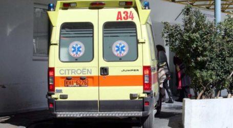 Ατύχημα σε εργοστάσιο έξω από τη Λάρισα – Άντρας τραυματίστηκε πέφτοντας από ύψος