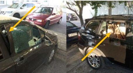 Έσπασαν αυτοκίνητα εργαζομένων στο πάρκινγκ του Πανεπιστημιακού Νοσοκομείου Λάρισας (φωτο)
