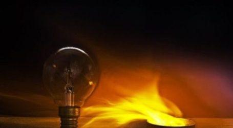 Βλάβη σε γραμμή μέσης τάσης προκάλεσε τη διακοπή ρεύματος σε πολλές περιοχές της Λάρισας