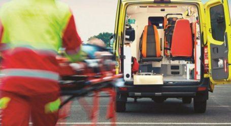 Τροχαίο ατύχημα στην Αγριά Βόλου – Μία τραυματίας