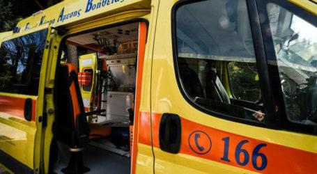 Βόλος: ΙΧ παρέσυρε και τραυμάτισε πεζό στην οδό Ιωλκού