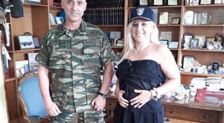 Διαχρονική η συνεργασία Περιφέρειας με τη διοίκηση του στρατοπέδου Γεωργούλα [εικόνες]