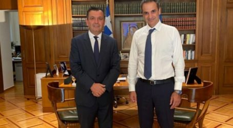 Με τον πρωθυπουργό συναντήθηκε ο Χρ. Μπουκώρος
