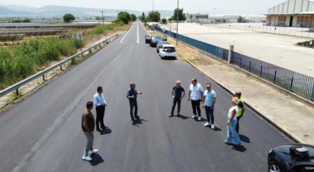 Παραδόθηκε σε κυκλοφορία από την Περιφέρεια Θεσσαλίας ο δρόμος Λάρισα – Φάρσαλα από το ύψος των Χαλκιάδων