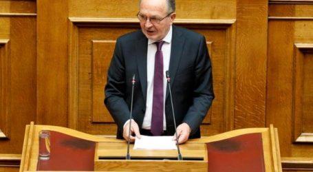 Αναφορά του Βουλευτή Μαγνησίας Αθανάσιου Λιούπη για το claw back στις παρεχόμενες υπηρεσίας υγείας