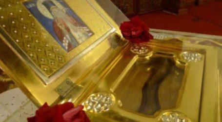 Η Σκοτίνα και ο Ι.Ν. Παναγίας Φανερωμένης υποδέχονται το ιερό λείψανο του Αγίου Λουκά του ιατρού