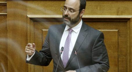 Ο Κων. Μαραβέγιας εισηγητής της Ν.Δ. στο νομοσχέδιο για τον Οργανισμό Διασφάλισης της Ποιότητας στην Υγεία