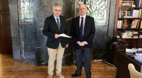 Ο Μάξιμος Χαρακόπουλος στον Πρόεδρο της Βουλής: Διακομματική Πρόταση Νόμου για εκκρεμείς υποθέσεις και καταδίκες της χώρας στο ΕΔΔΑ