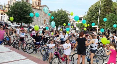 «Ποδηλατάδα» για εκατοντάδες ποδηλάτες στην Ελασσόνα – Στα πεντάλ και οι Δημότσιος – Γάτσας
