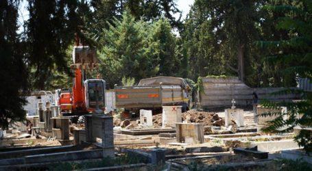 Λάρισα: Τι γίνεται με το τοιχίο του Παλαιού Νεκροταφείου που καταρρέει