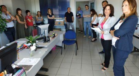 Στην ΔΟΥ Κοζάνης η Κατερίνα Παπανάτσιου με αντιπροσωπεία του ΣΥΡΙΖΑ