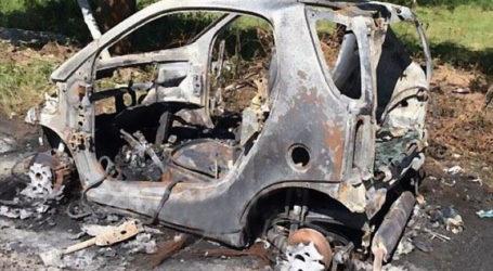 Κάηκε ολοσχερώς αυτοκίνητο στα Άνω Λεχώνια – Πρόλαβε και το εγκατέλειψε ο οδηγός