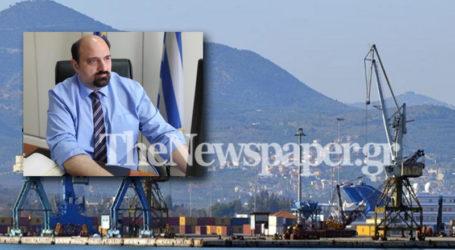 Τριαντόπουλος: Νομοθετική παρέμβαση για την αξιοποίηση του λιμανιού του Βόλου
