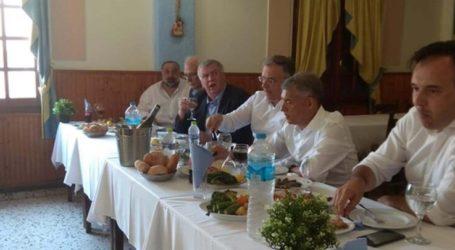Λάρισα: Ένα τραπέζι γεμάτο παραπολιτικά και εκατοντάδες χιλιάδες ευρώ