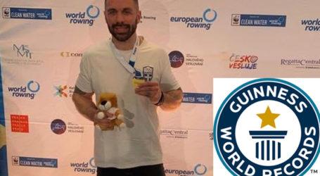 Στο βιβλίο των ρεκόρ Γκίνες ο Βολιώτης παγκόσμιος πρωταθλητής κωπηλασίας Αντρέας Τιλελής