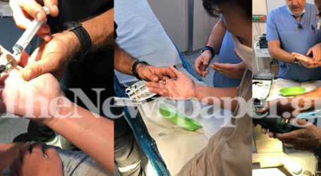 Νοσοκομείο Βόλου: Με τροχό αφαίρεσαν ρουλεμάν από δάχτυλο παιδιού – Δείτε βίντεο και εικόνες
