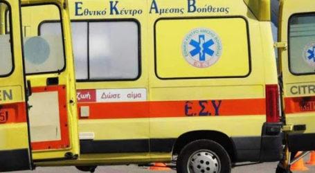 Βόλος: 12χρονη χτυπήθηκε από ΙΧ και μεταφέρθηκε στο Νοσοκομείο Λάρισας