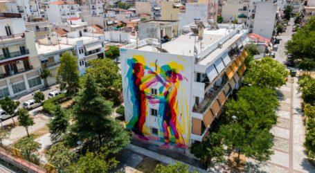 Φεστιβάλ 2020: Δείτε την πρώτη δημόσια τοιχογραφία από ψηλά [εικόνες]